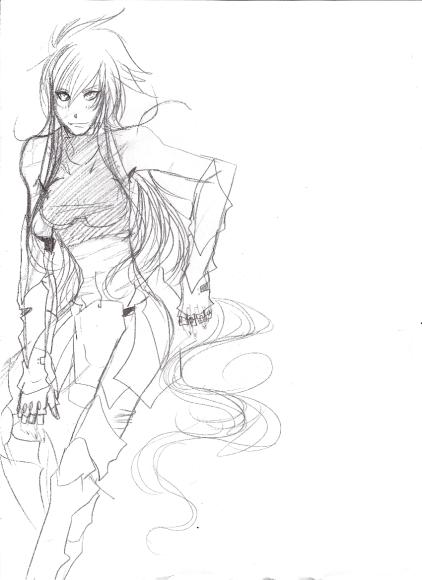 Reina Violette de Garuda por Yebin