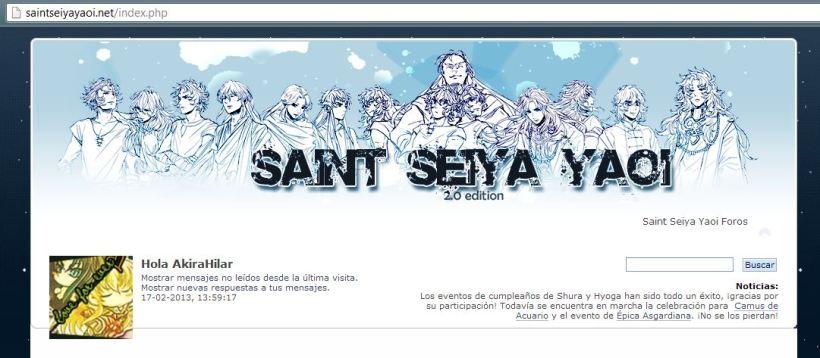 Foro Saint Seiya Yaoi 2.0