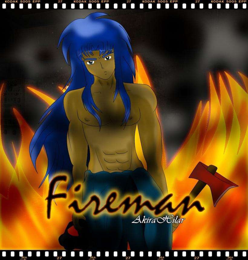 Fireman - Defteros AU
