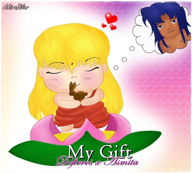 My gift (Defteros x Asmita)